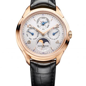 Baume et Mercier Clifton 10306 front 42 mm qp red gold